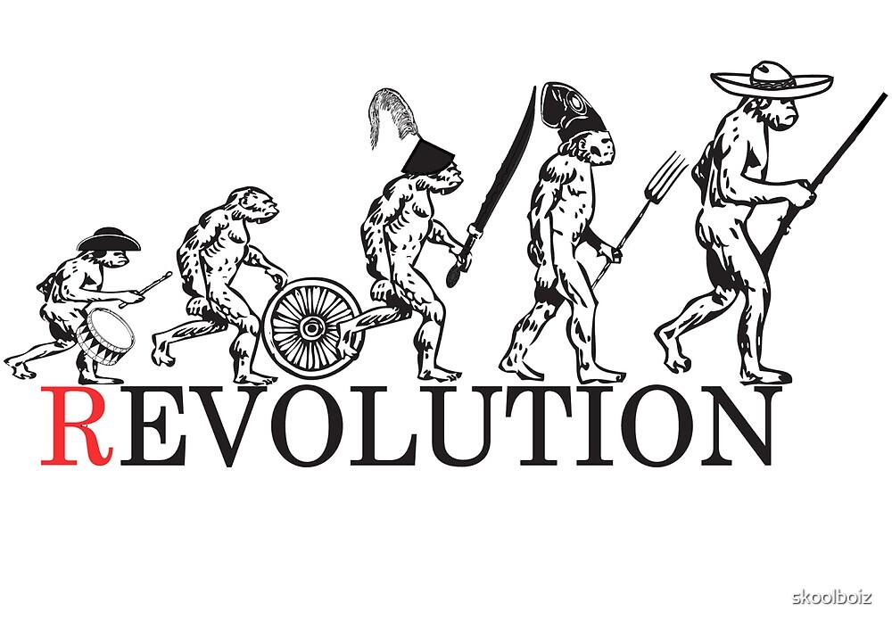 Evolution of Revolution by skoolboiz