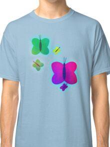 Retro-Bright Butterflies Classic T-Shirt