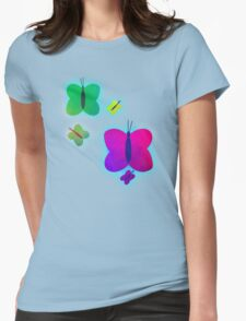 Retro-Bright Butterflies T-Shirt