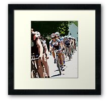 Women on Wheels Framed Print