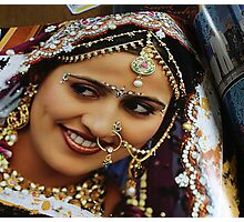 Indian Beauty Photographic Print