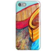 Boats in Waiting iPhone Case/Skin