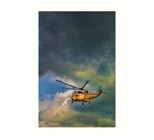 RAF Rescue Art Print