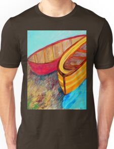 Boats in Waiting Unisex T-Shirt
