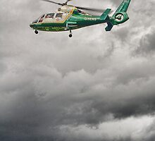 Great North Air Ambulance by Kevin Manchester
