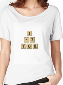 Scrabble Love Women's Relaxed Fit T-Shirt