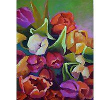 Tulip Bunch Photographic Print