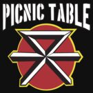 Dead Kennedys Picnic Table  by BUB THE ZOMBIE