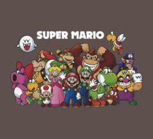 Super Mario and Pals! Kids Clothes