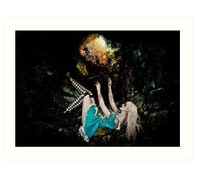 Falling Alice Art Print