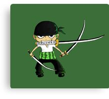 Zoro Is Awesome Canvas Print