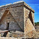 Mallorcan sea fort by Johnathan Bellamy