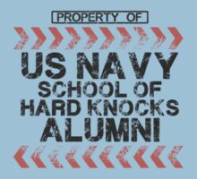 School of Hard Knocks - Navy - Light Colors Kids Clothes
