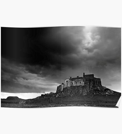Lindisfarne Castle from the North Poster