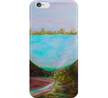 A Boat and a Seamless Sky iPhone Case/Skin