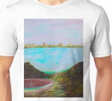 A Boat and a Seamless Sky Unisex T-Shirt
