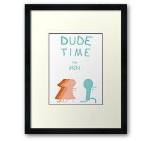 "Regular Show ""Dude Time"" Framed Print"