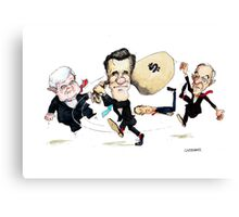 Mitt Romney Wins Republican Nomination Canvas Print