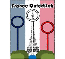 France Quidditch Photographic Print
