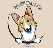 Fawn/White Corgi :: It's All About Me by offleashart