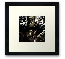 Graphic Design for Don Omar mixtape  Framed Print