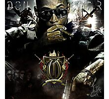 Graphic Design for Don Omar mixtape  Photographic Print