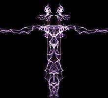 purple line on Black by HHarrabi