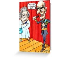 Prince Philip's Stand Up Greeting Card