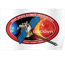 Deep Space Climate Observatory (DSCOVR) Logo Poster