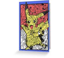 Pokémontage Greeting Card