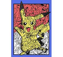 Pokémontage Photographic Print