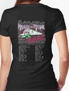 Heavy Metal Hauler Womens Fitted T-Shirt
