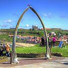 Through the Whale Bone Arch by Tom Gomez