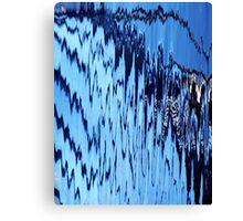 Radio Waves Canvas Print