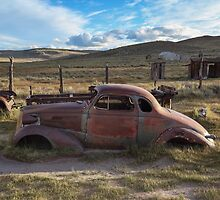 1937 Chevy in Bodie by Richard Thelen