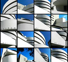 Guggenheim Collage by Ellen  Hagan