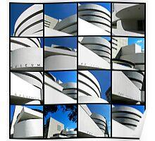 Guggenheim Collage Poster
