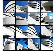 Guggenheim Collage Photographic Print