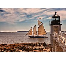 Keeping Vessels Safe Photographic Print