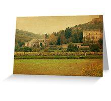 Country Church-Tuscany Greeting Card