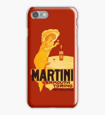 Martini Rosso Vermouth iPhone Case/Skin