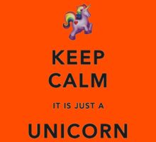 Keep Calm is Just a Unicorn  Kids Clothes