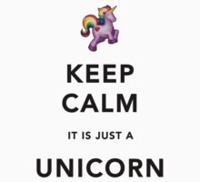 Keep Calm is Just a Unicorn  One Piece - Long Sleeve