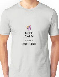 Keep Calm is Just a Unicorn  Unisex T-Shirt