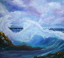 OCEAN WAVES by LOUISE TORRES