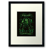 El Cazador Framed Print