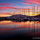 Bellerive Yacht Club Sunset by lee Henley