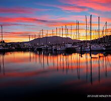 Bellerive Yacht Club Sunset by lee Henley