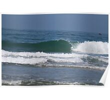 Wave Photograph Poster