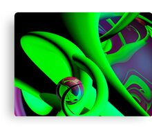 Grape juice Canvas Print
